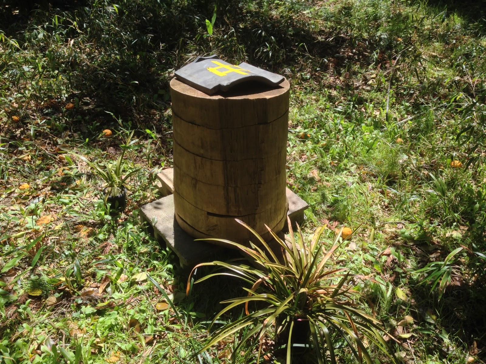 間伐材養蜂箱