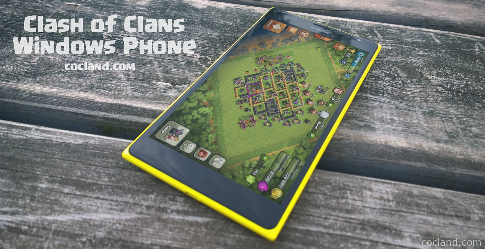 Download Clash Clans for Windows Phone