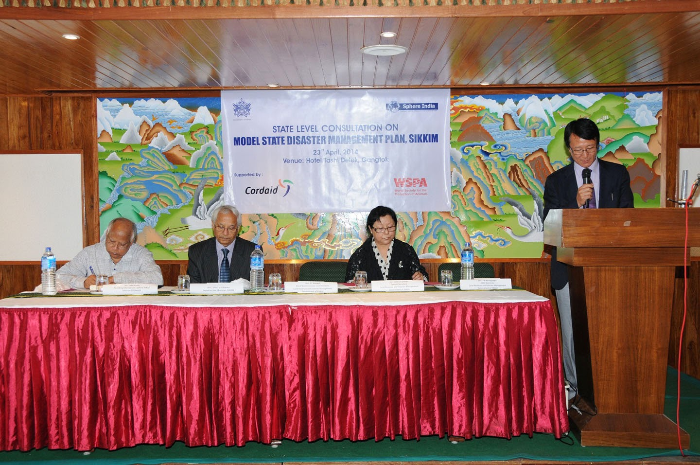 10-ru imagesize:1440x956 GANGTOK, 23 Apr [IPR]: A state-level Consultation on Model State Disaster Management plan was held at a local hotel, today with a view of making Sikkim a ...