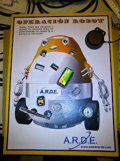 Operación Robot terminado