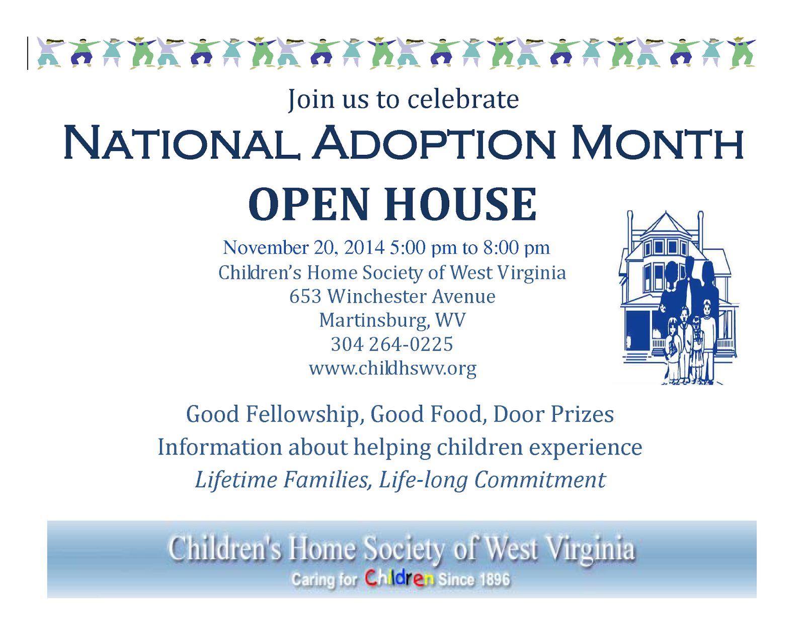 Wv colored childrens home - Join Us On November 20 2014 From 5 00 Pm To 8 00 Pm For The Children S Home Society Of West Virginia Adoption Open House Learn About Adoption Local