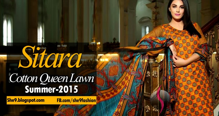 Queen Lawn Collection 2015