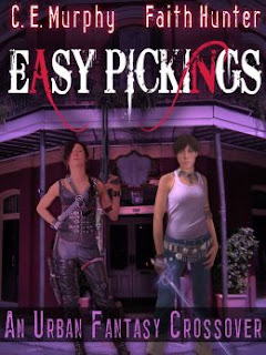 Easy Pickings by C. E. Murphy and Faith Hunter (Jane Yellowrock and Joanne Walker crossover)