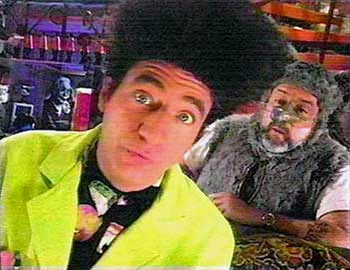 Beakman and Lester of Beakman's World shown in RPN 9 during the 90's in the Philippines