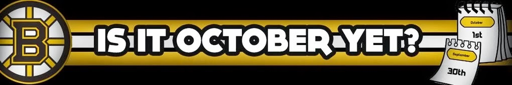 Is it October yet ? - A Bruins blog from Germany