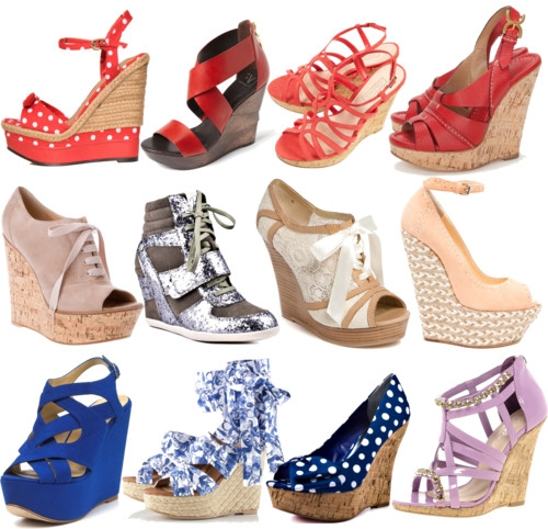Pop Culture And Fashion Magic: Wedges – a summer staple