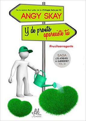 LIBRO - Y de pronto apareciste tú Serie: ¿Te atreves a quererme? #2 Angy Skay (LxL - Enero 2016) NOVELA ROMANTICA | Edición digital ebook kindle Comprar en Amazon España