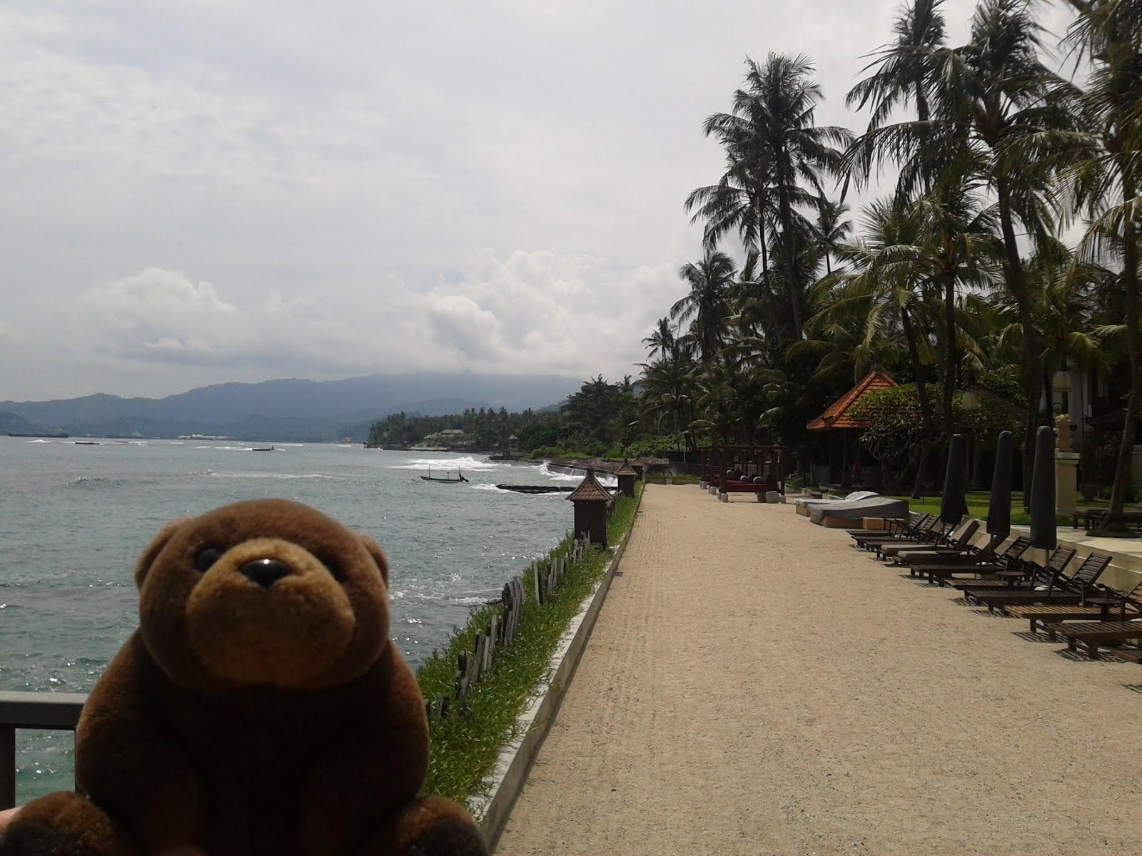 Teddy in Candidasa, Bali