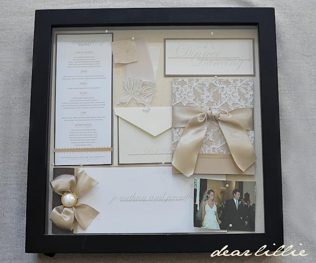 Dear Lillie Our Wedding Invitation Program And Menu