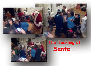 The Tackling of Santa