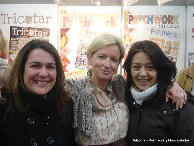 Carolina Carrillo, Veronique Requena y Mercedes Rodríguez