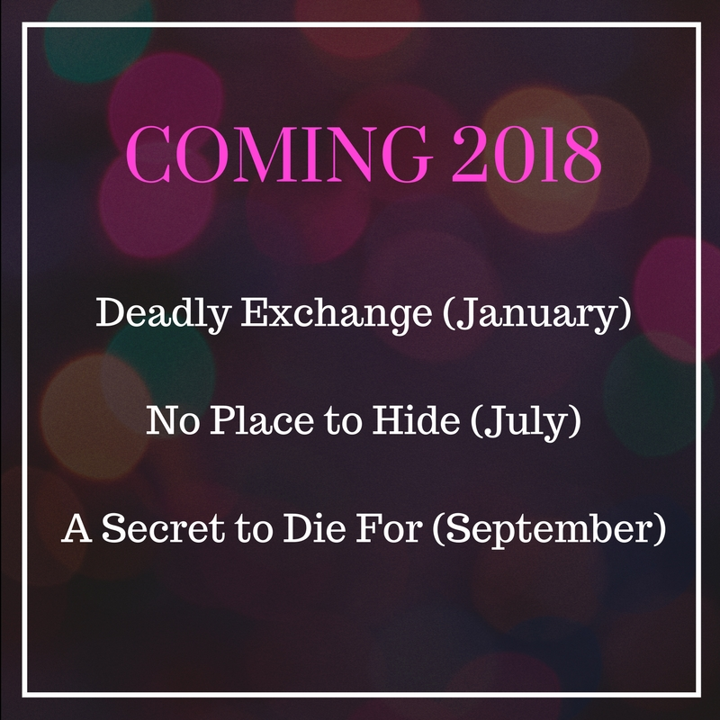 Romantic Suspense Coming 2018