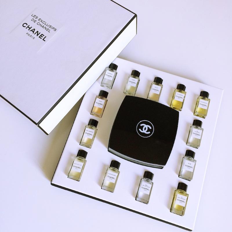 coffret parfum chanel