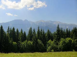 Vistas a los Tatra y Zakopane desde Gubałówka