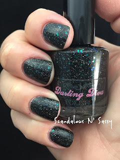Darling Diva Polish In Space, No One Can Hear You Scream Hug My Face Collection (Alien inspired)