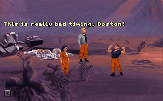 Huevo de pascua The Dig - Boston Low