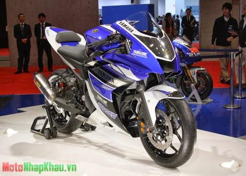 Yamaha R25 mới ra mắt khẳng định nhằm vào thị trường châu Á.