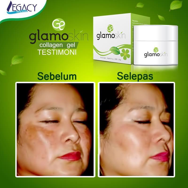 testimoni pengguna glamoskin, produk legacy secret, produk dari korea, glamoskin