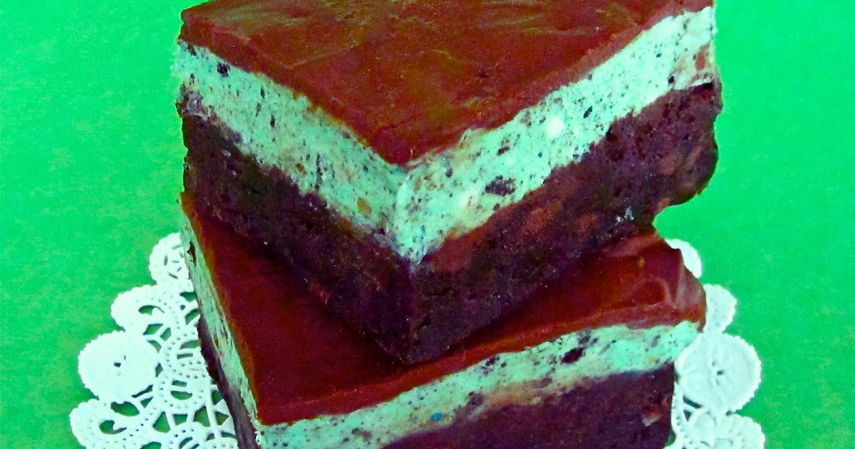 Mint Oreo Fudge Brownies The Lindsay Ann