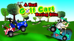 Çılgın Golf Arabası 2 Oyunu