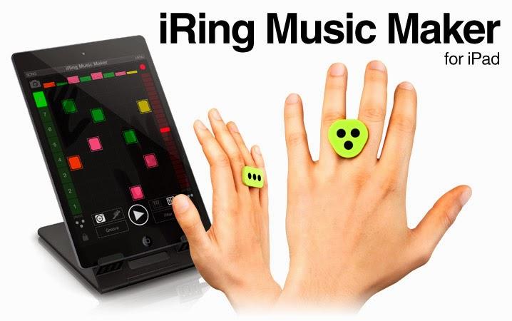Novo acessório chamado iRing: Música na palma da mão