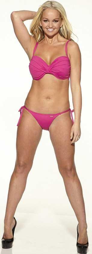 Confidence Jennifer Ellison Show Off Her New Bikini Curve