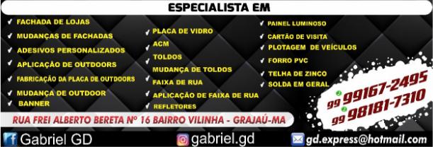 GD EXPRESS COMUNICAÇÃO VISUAL