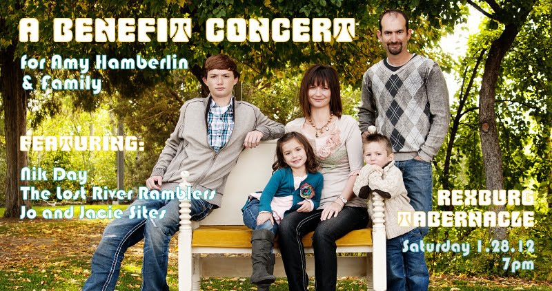 Benefit Concert for Amy Hamberlin