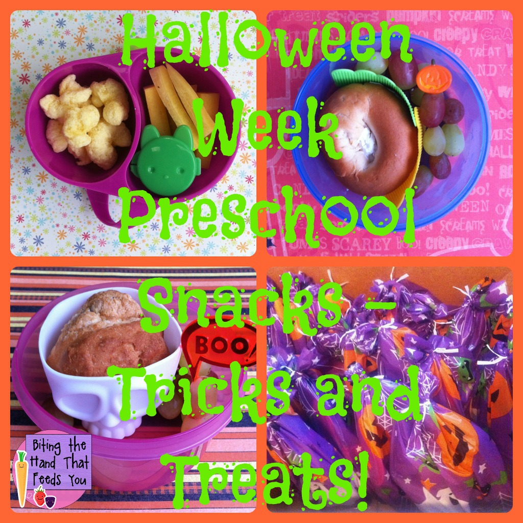 Biting the hand that feeds you dye free preschool snacks for Halloween cooking ideas for preschool