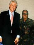 Autrilla Scott & President William Jefferson Clinton