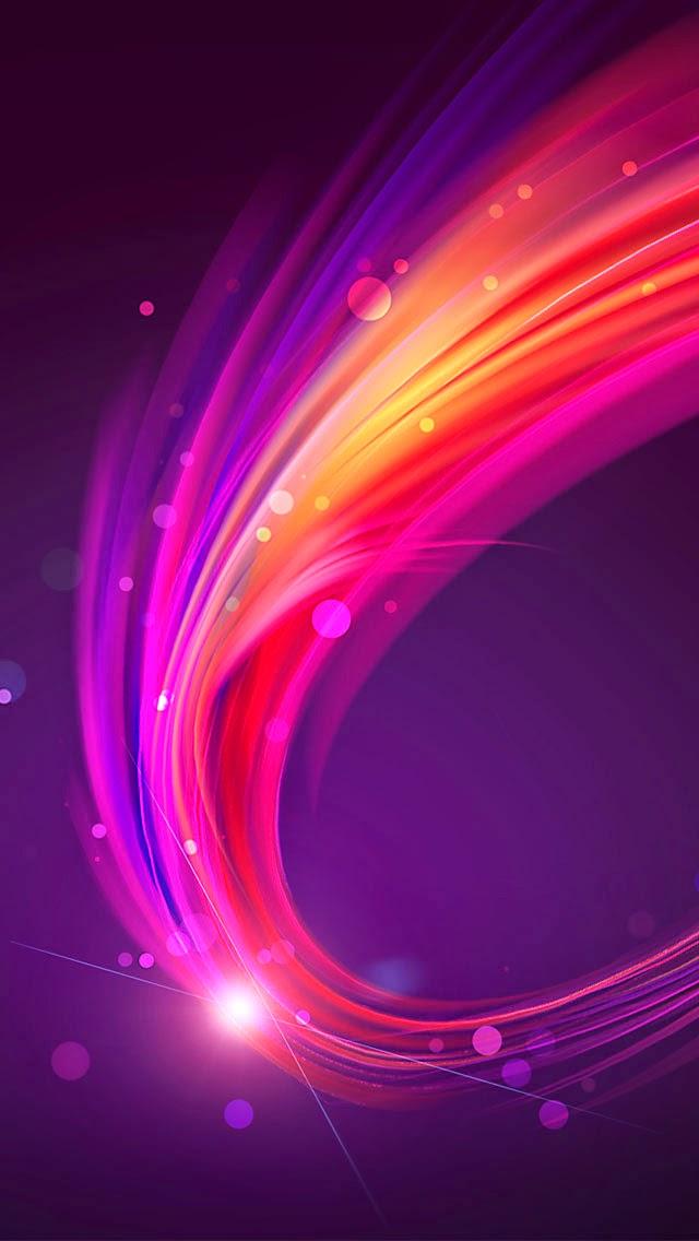 خلفيات ايفون ملونة