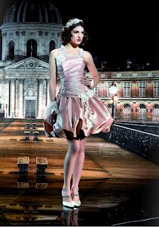 Vestidos Miss Paris 2012