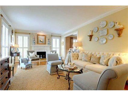 Trisha Troutz Atlanta Interiors Living Rooms