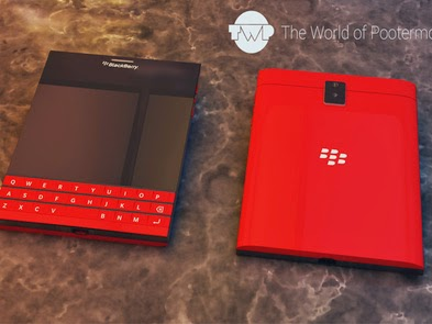 New BlackBerry Passport Warna Merah Natal