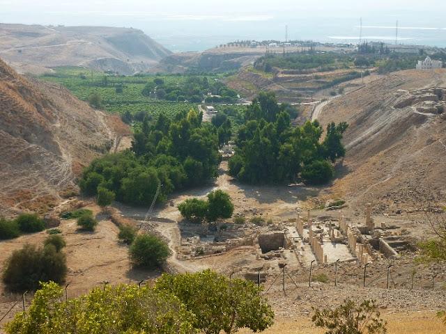 visita di pella, giordania