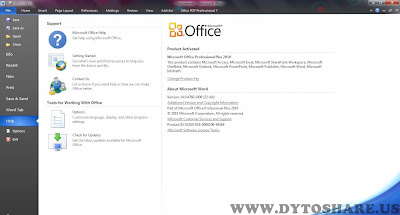 o2 Microsoft Office Professional Plus 2010 + Activator
