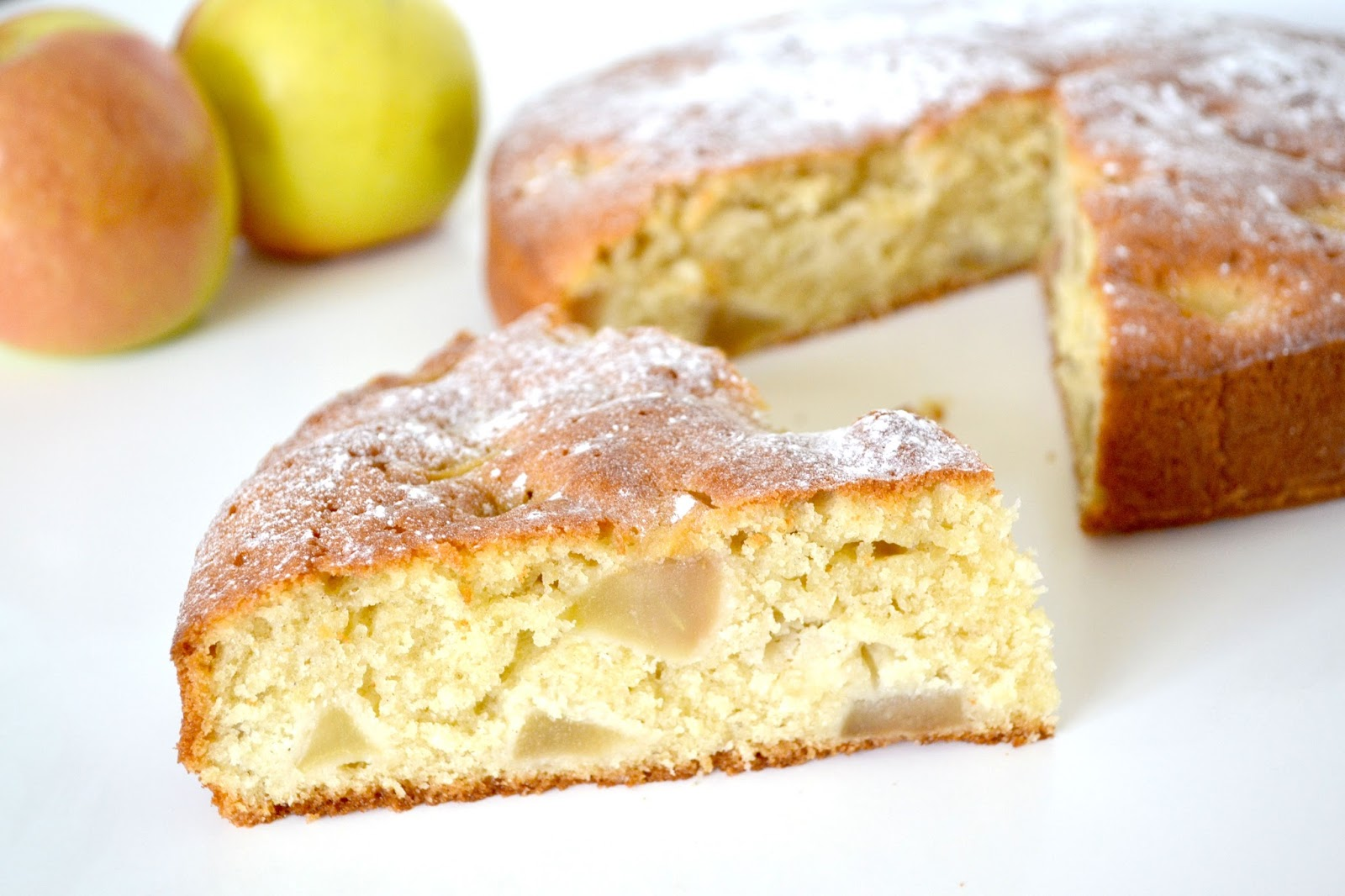 Recipe | Somerset Apple & Cider Cake | Blonde Ambition