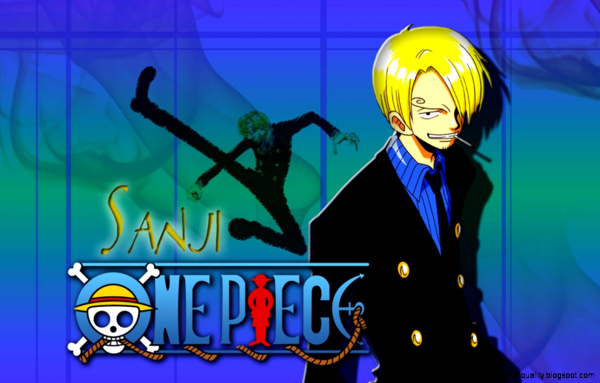 Sanji One Piece Wallpapers Wallpapers Quality