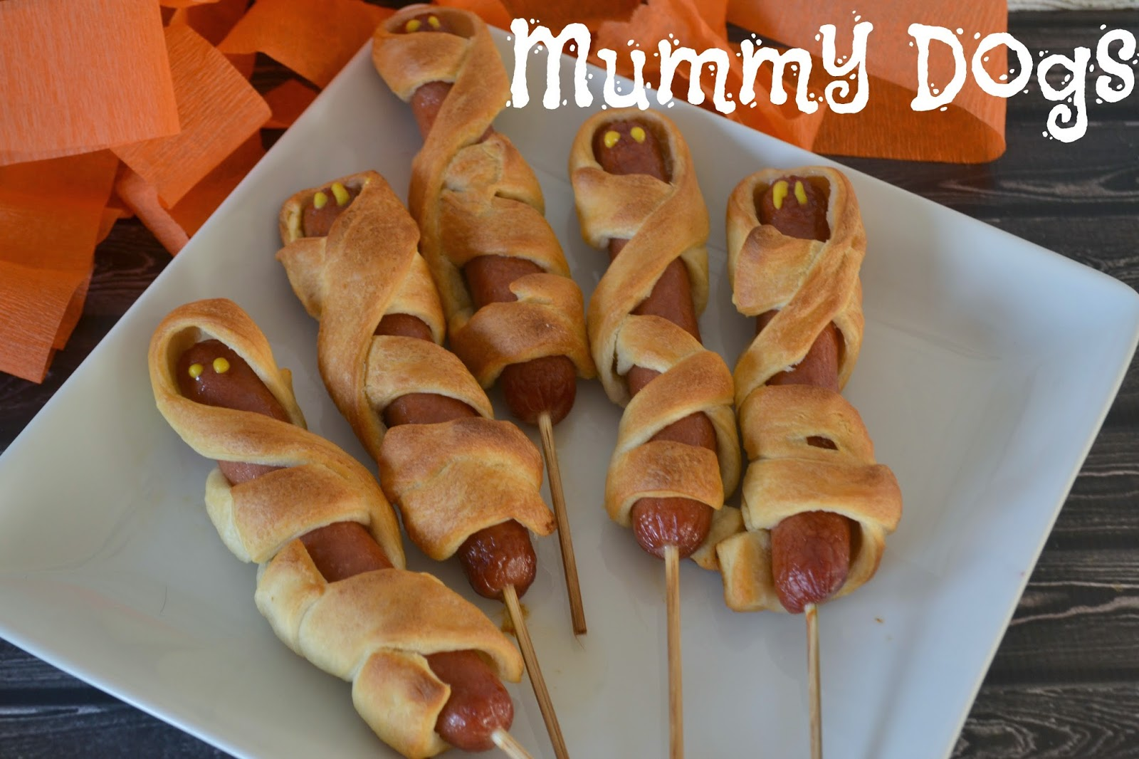 Mummy Dogs for Halloween Fun! |Building Our Story