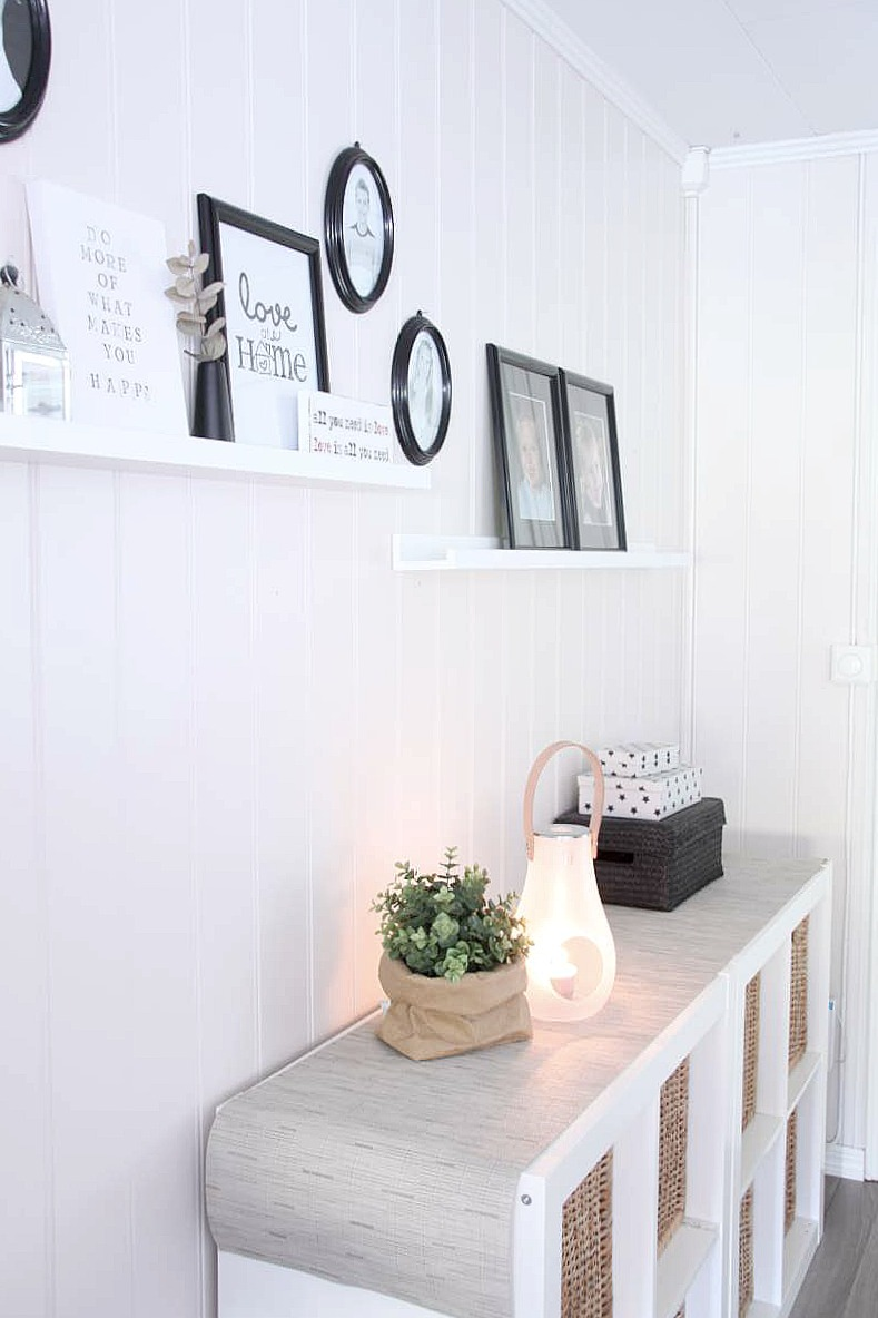 Inspiraci n decorar zona de paso decorar tu casa es - Decorar un recibidor moderno ...