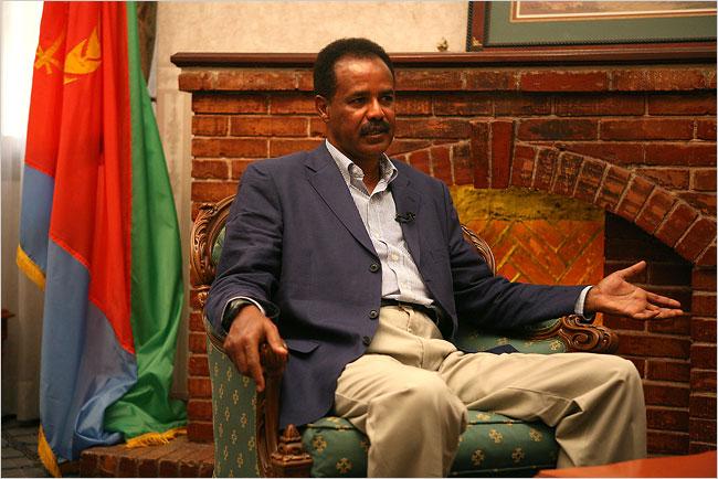 Isaias Afewerki, presidente de eritrea desde mayo 24, 1993