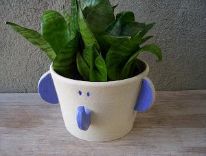 Elefante Cachepot (pote 11)