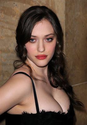 celebrity hairstyles, kat dennings hairstyles
