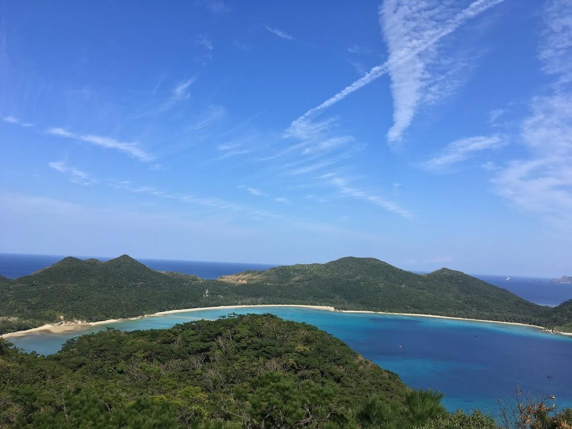 座間味島「安護の浦」絶景