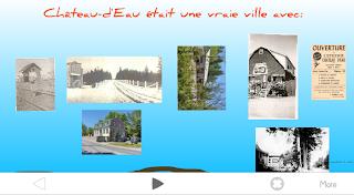 présentation en ligne Prezi - la ville de Chateau d Eau au Quebec
