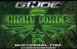 GI Joe 2013 Convention Exclusive Night Force Boxed Set