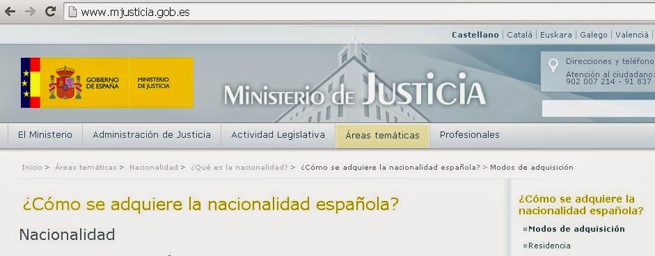 Obtener la nacionalidad española