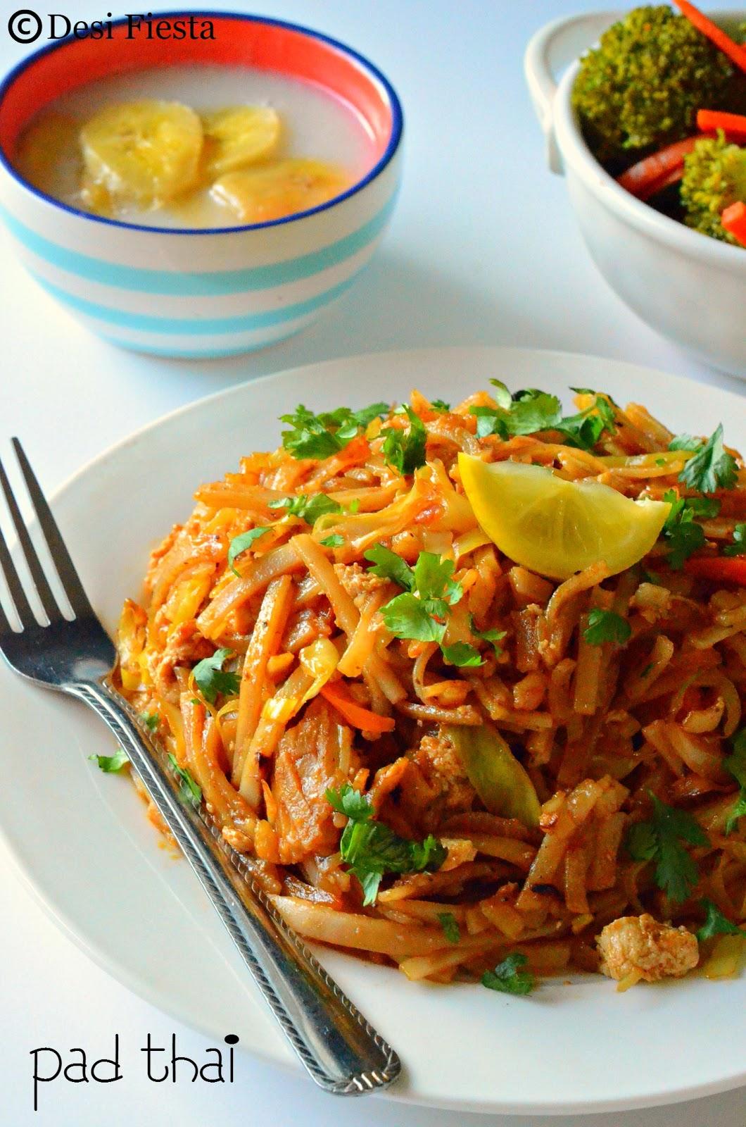 Veg thai noodles