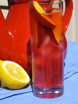 Hibiscus-Lemon Iced Tea (sugar-free)