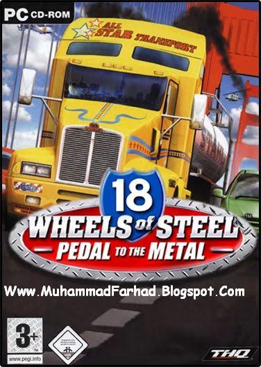18 wheels of steel pedal of the metal: